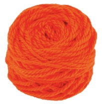 Ozi Wool - 16 ply wool yarn 50g, orange