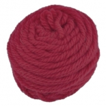 Ozi Wool - 16 ply wool yarn 50g, red violet