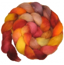 Kathy's Fibres - merino rovings, happy