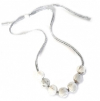 Indi & Frey - necklace, jersey marble