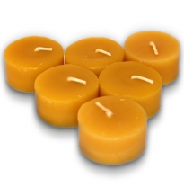 dipam - beeswax tea light candle