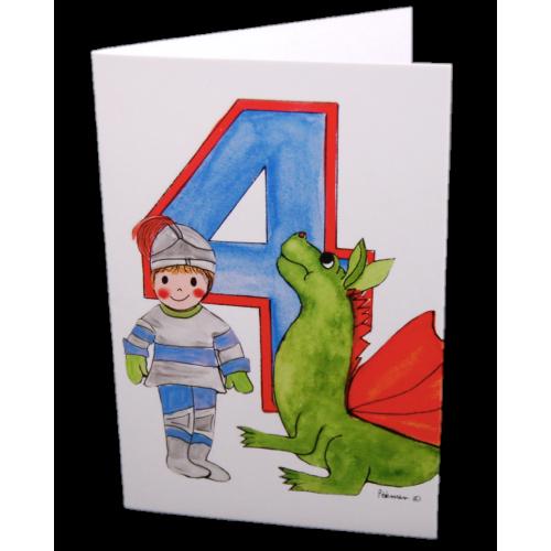 Hemer australia greeting card age 4 knight dragon hemer australia greeting card age 4 knight dragon m4hsunfo