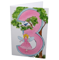 Hemer Australia - greeting card, age 3 melody fairy