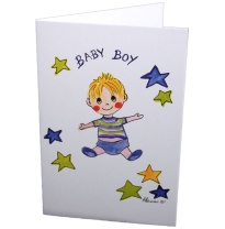 Hemer Australia - greeting card, baby boy