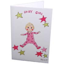 Hemer Australia - greeting card, baby girl