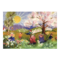 The Sarah Laidlaw Collection - large greeting card, spring