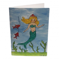 Hemer Australia - greeting card, melody mermaid