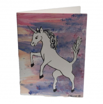 Hemer Australia - greeting card, unicorn