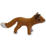 PAPOOSE - felt animal, fox
