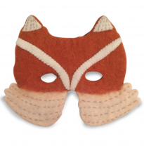 PAPOOSE - felt mask, fox