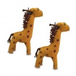 PAPOOSE - felt animal, giraffe