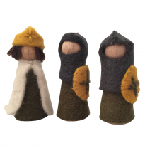 PAPOOSE - felt kings & knights, 9cm