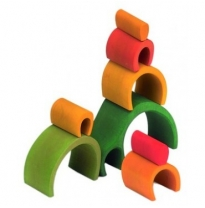 wooden stackers, blocks & puzzles
