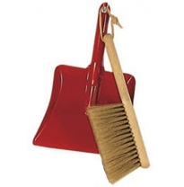 Glückskäfer - dustpan & brush set