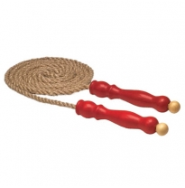 Glückskäfer - hemp skipping rope