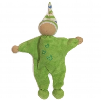 blessed earth - waldorf doll, green