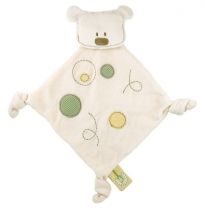 dandelion - organic cotton buddy blanket, bear
