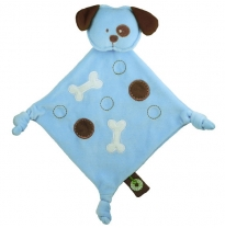 dandelion - organic cotton buddy blanket, doggy