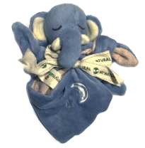 my natural - sleepytime lovie blanket, elephant