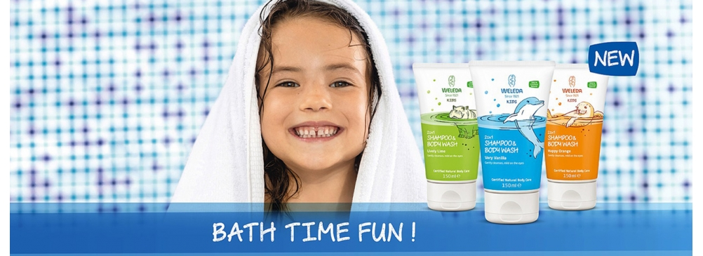 Weleda bathtime fun