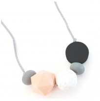Indi & Frey - necklace galactic, black