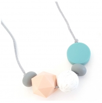 Indi & Frey - necklace galactic, teal