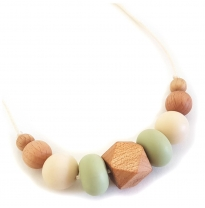 Indi & Frey - necklace, moxi khaki