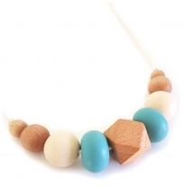 Indi & Frey - necklace, moxi teal