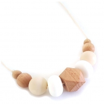 Indi & Frey - necklace, moxi white