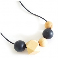 Indi & Frey - necklace, orbit black