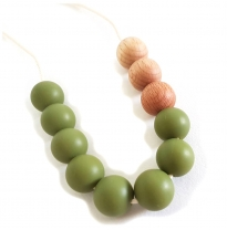 Indi & Frey - necklace, stella olive